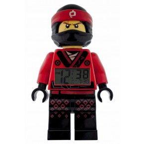 LEGO Digital Ninjago Väckarklocka - Röd/Svart