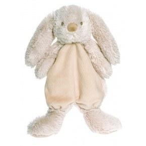 Teddykompaniet Lolli Bunnies Kanin Snuttefilt - Grå