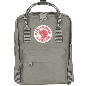 Fjällräven Kånken Mini Rygsæk - Fog-Striped