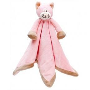 Teddykompaniet Diinglisar Snuttefilt Katt - Rosa
