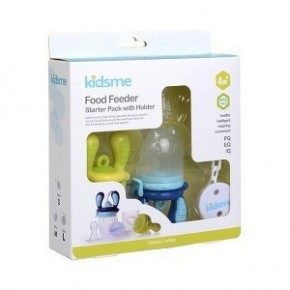 Kidsme Food Feeder Startpaket - Blå/Lime