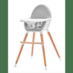 KINDERKRAFT Fini barnstol - grå