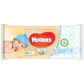 Huggies Pure Våtservetter