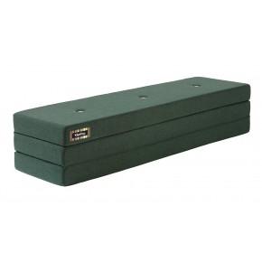 ByKlipKlap Multifunktionell 3 Fold XL Madrass - Mörk Grön