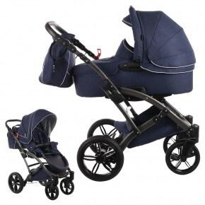 Knorr-Baby Voletto Emotion Kombivagn - Mörkblå