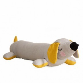 Roommate Lazy Puppy Kudde - Grå