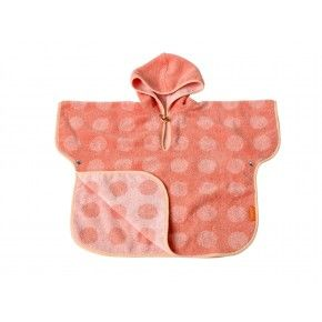 Leander Matty Badponcho - Coral/Pink