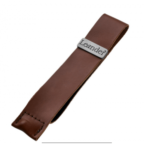 Leander Läderband - Brun