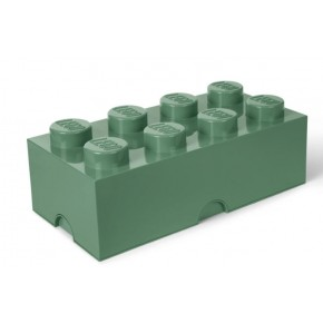 LEGO Förvaring 8 - Sand Grön