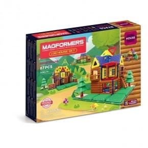 Magformers Log House Set 87 Delar