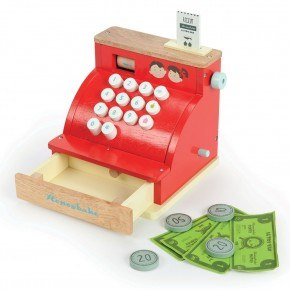 Le Toy Van Kassaapparat - Röd