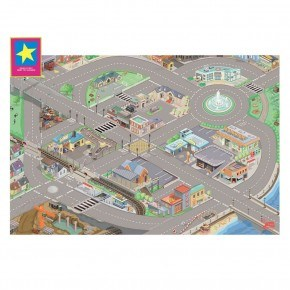 Le Toy Van Lekmatta Stad Stor