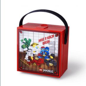 Lego Ninjago Matlåda med Handtag - Röd