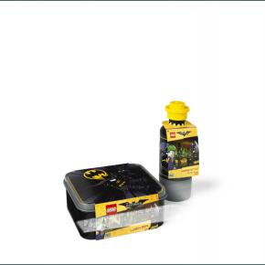 Lego Batman Matlåda och Vattenflaska - Svart