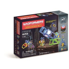 Magformers Byggsats 55 Magic Space Set