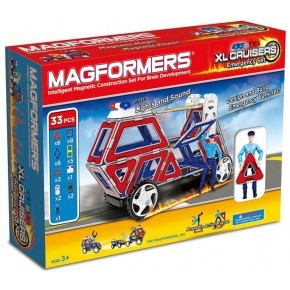 Magformers Byggsats XL Cruisers Emergency Set