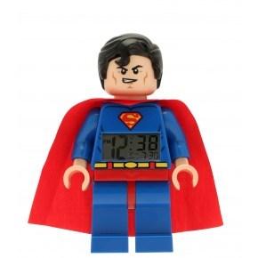 LEGO Digital Superman Väckarklocka - Röd/Blå