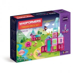 Magformers Byggsats Princess Castle Set
