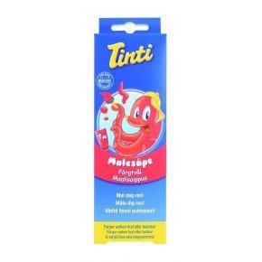 Tinti Färgtvål - Röd
