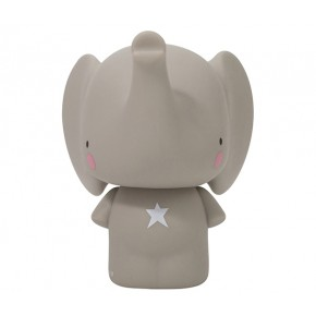 A Little Lovely Company Elefant Spargris - Grå