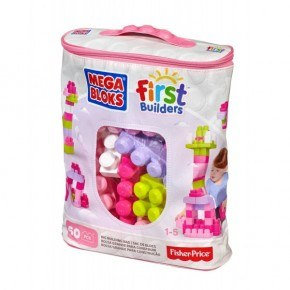 Fisher Price Mega Blocks 60st - Pink