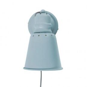 Sebra Vägglampa Metall - Blå