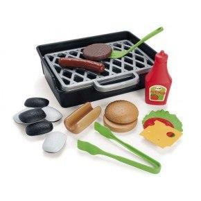 Dantoy BBQ Burger & Hotdog Leksaksset