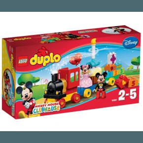 Lego Duplo Musse och Mimmis Födelsedagsparad