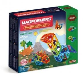 Magformers Byggsats Mini Dinosaur Set