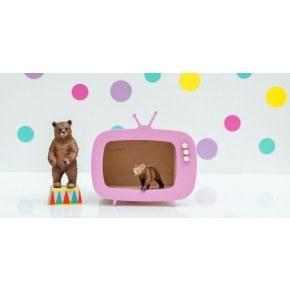 Up! Warsaw Mini Tv Box Teevee - Rosa