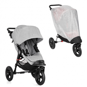 Baby Jogger City Elite Single Sittvagn + Insektsnät - Slate