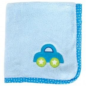 JaBaDaBaDo Babyfilt Bil - Blå