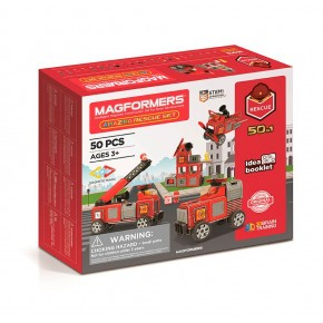 Maki Magformers Amazing Räddning konstruktions set