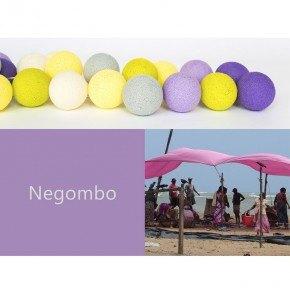 Happy Lights Ljusslinga 35 Bollar - Negombo