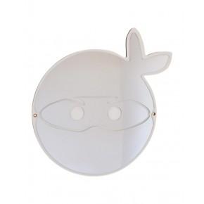 Maseliving Ninjamask Spegel - Vit
