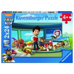 Ravensbruger Pussel 2-pack - Paw Patrol