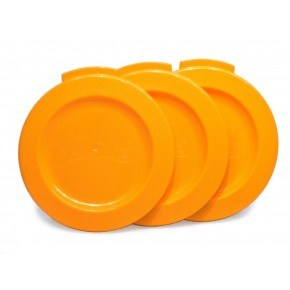 WOW Gear Freshness Lock 3-pack - Orange
