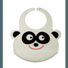 Safe Health Panda Haklapp i Silikon - Vit