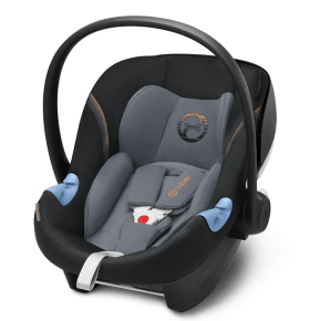 Cybex Aton M i-Size - Pepper Black