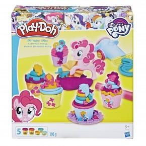 Play-Doh Lera Pinkie Pie Cupcake party