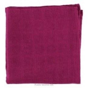 Pippi Muslinfilt - Dark Red