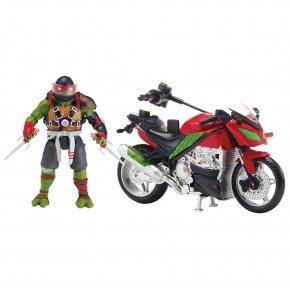 Turtles Raphael Med Motorcykel