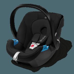 Cybex Aton Babyskydd - Svart (Isofix/Bälte Montering)