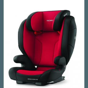 Recaro Monza Nova Evo Seatfix Bilbarnstol - Racing Red