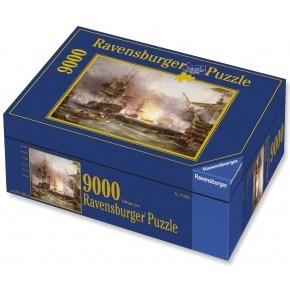 Ravensburger Bombardment of Algiers Pussel 9000 Bitar