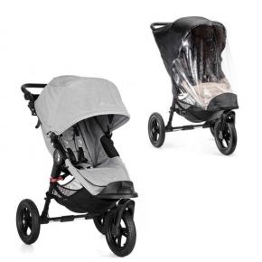 Baby Jogger City Elite Single Sittvagn + Regnskydd - Slate