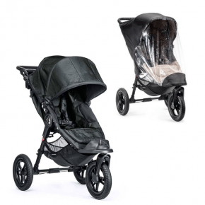 Baby Jogger City Elite Single Sittvagn + Regnskydd - Titanium