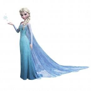 Roommates Wall Sticker - Gigant Frost Elsa Glitter