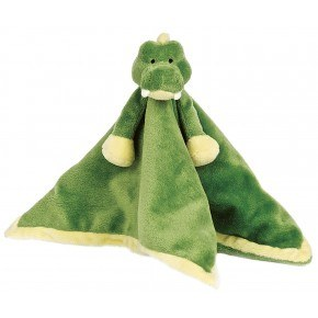 Teddykompaniet Diinglisar Snuttefilt Krokodil - Grön