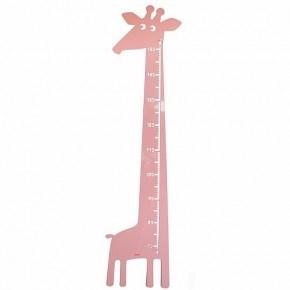 Roommate Giraff Mätsticka - Rosa